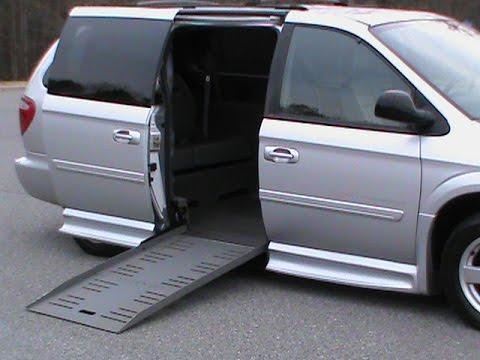 Charlotte NC Video 2005 Dodge Wheelchair Van Handicap For Sale