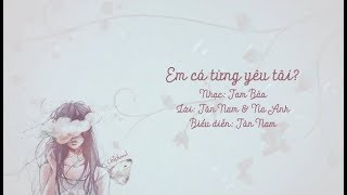 [Vietsub+pinyin] Em có từng yêu tôi? - Tôn Nam《Thượng Hải ngày sương mù OST》| 是否爱过我 - 孙楠《像雾像雨又像风》片頭曲