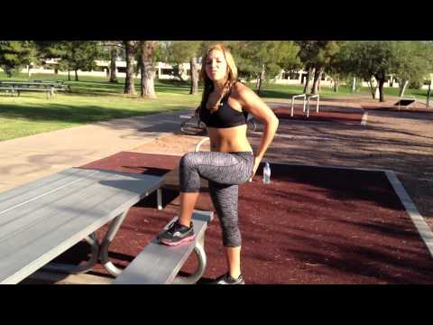 MY BREAD & BUTTER OUTDOOR WORKOUT