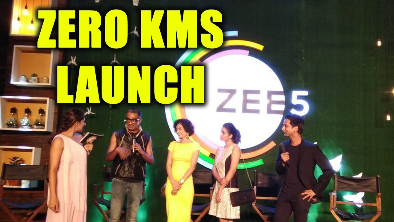 Download Team Zero Kms At The Launch Of Zee5 Original | #Bollywoodtashan