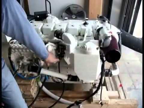 Дизельный двигатель Cummins - первый старт