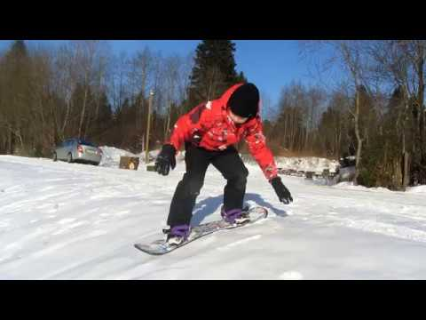 Сноуборд для детей обзор пластикового детского сноуборда.