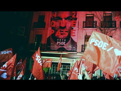 إسبانيا: الاشتراكيون يتصدرون نتائج الانتخابات التشريعية بدون تحقيق الأغلبية المطلقة