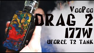DRAG 2 177W by VooPoo | Лучший бокс мод 2018? | Детальный обзор