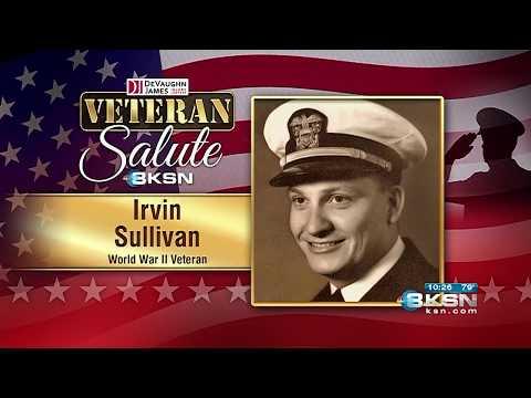 Veteran Salute: WWII Naval pilot recounts crash at sea
