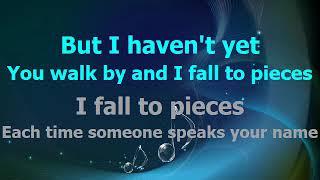 I fall to Pieces  Patsy Cline .. Karaoke + Lyrics