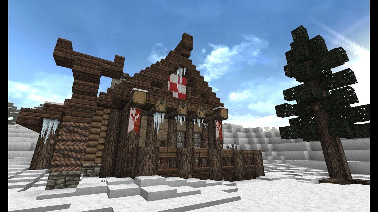 Minecraft Wikingerhaus YouTube - Minecraft wikinger hauser