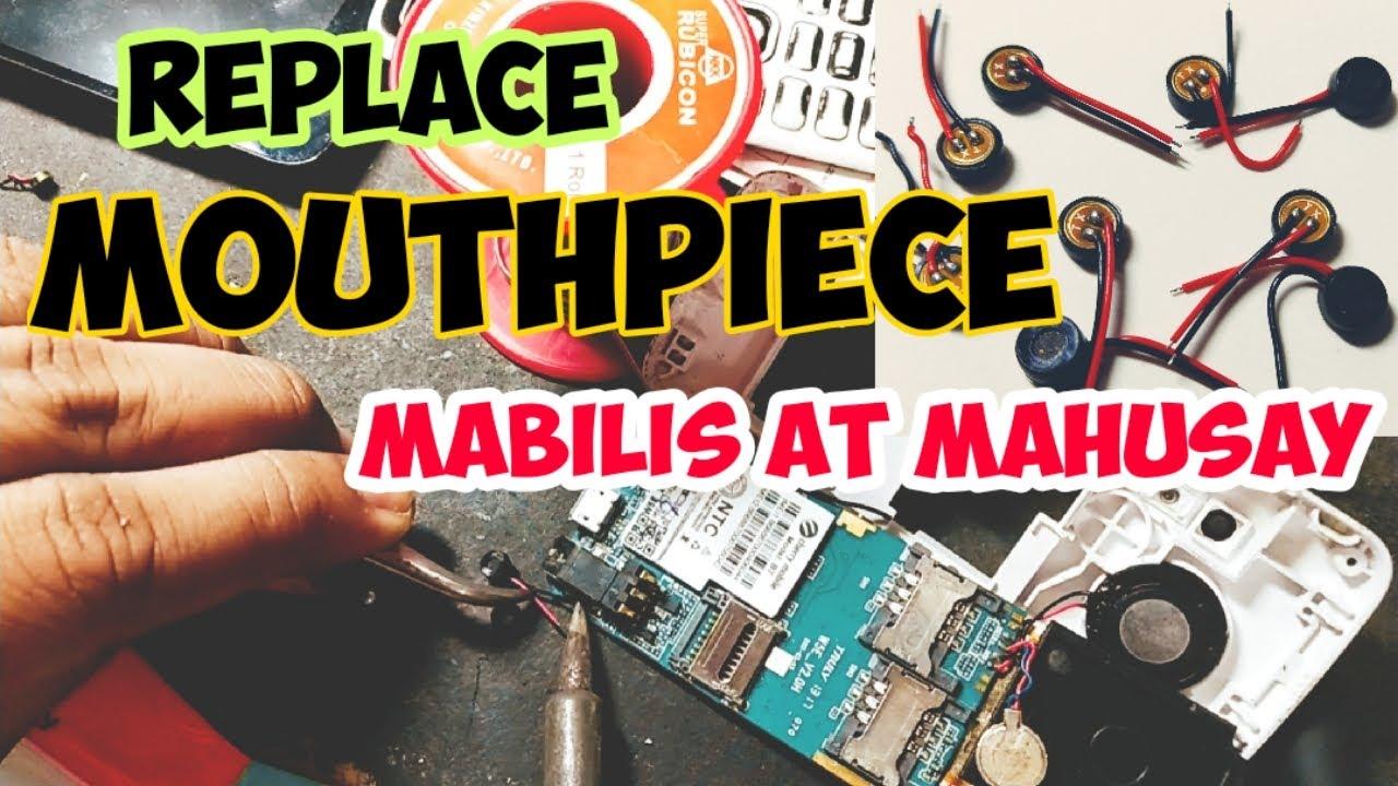 Paano magpalit ng mouthpiece or mic ng cellphone | mahusay at mabilis | BUTCH VALDEZ