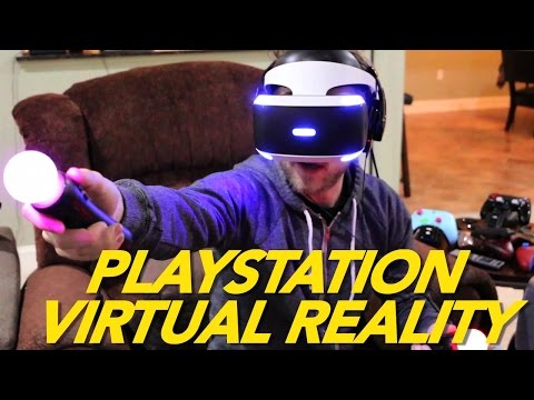 PLAYSTATION VIRTUAL REALITY W/ BOOGIE2988!