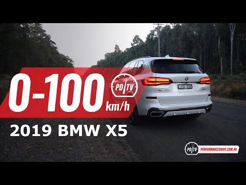 2019 BMW X5 (30d vs 40i) 0-100km/h & engine sound