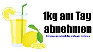 Wie du bis zu 1 Kg Gewicht am Tag verlieren kannst!