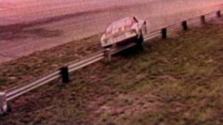 Cale Yarborough Goes Over the Wall at Darlington, 1965.  ...