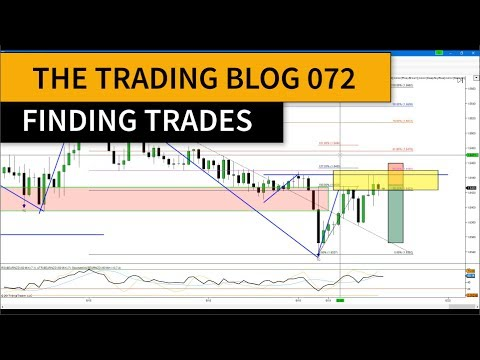 FOREX TRADING BLOG 072 - Finding Trades