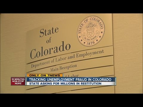 Tracking Unemployment Fraud In Colorado
