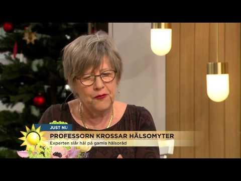 Professorn krossar hälsomyter - Nyhetsmorgon (TV4)
