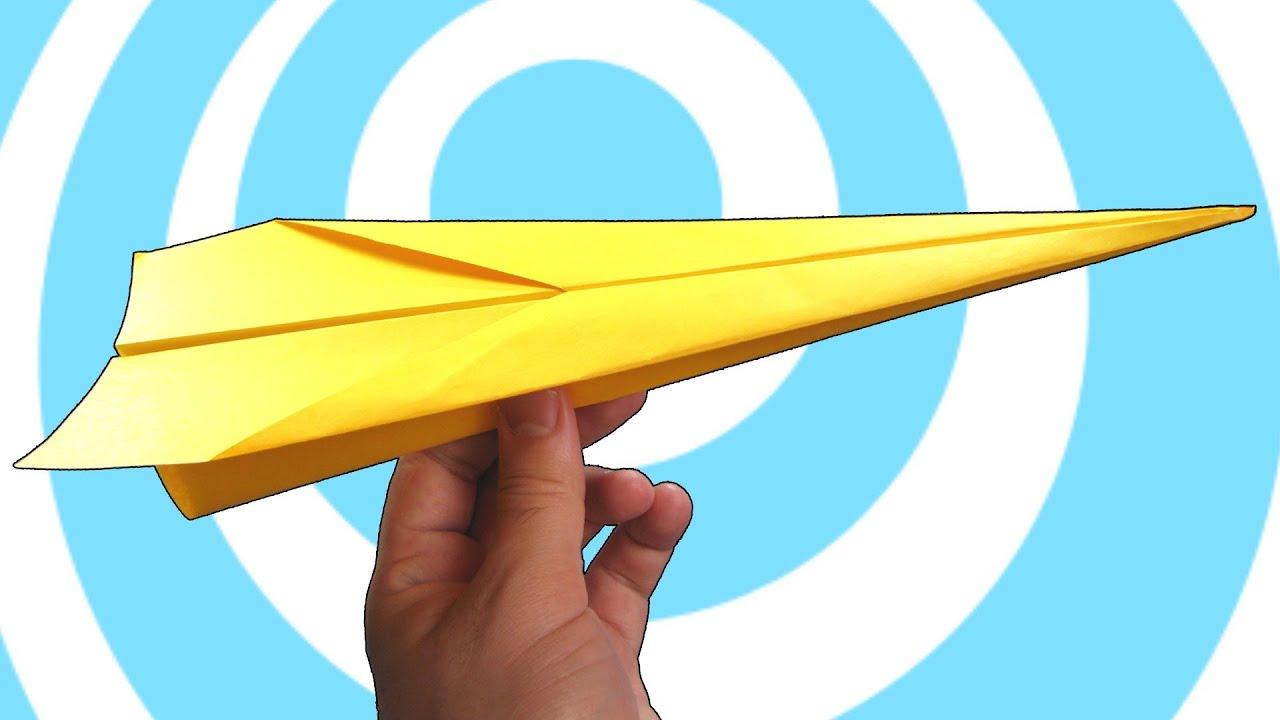 easy paper aeroplane instructions
