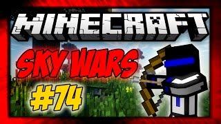 БИТВА ДВУХ КОМАНД! 74 Sky Wars - MINECRAFT