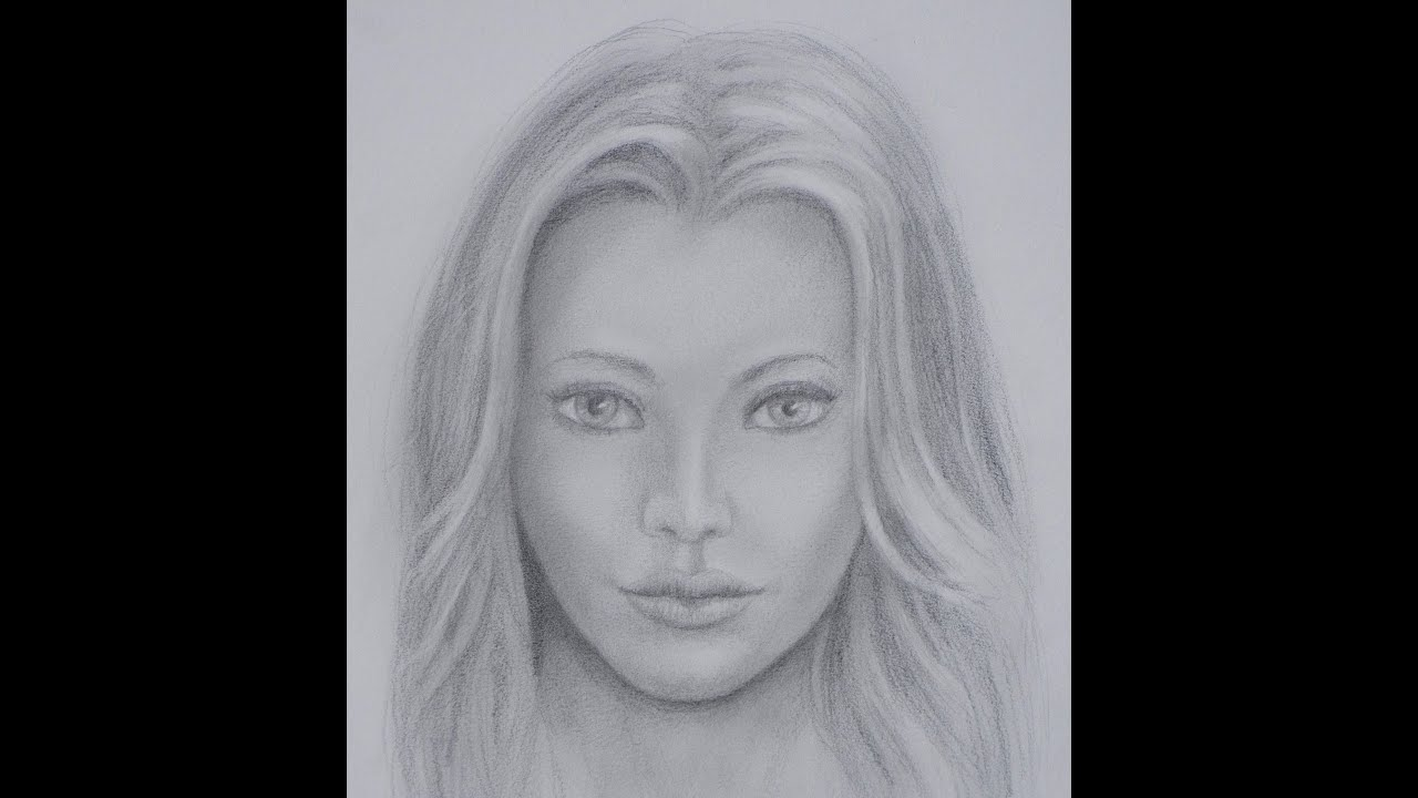 drawing lessons how to draw a realistic face fine art tips youtube