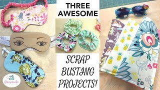 Three Fun And Easy Projects Using Fabric Scraps!