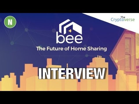Chris Coney Interview with Jonathan Chou CEO of Bee Token 🐝 Decentralized AirBNB on Ethereum