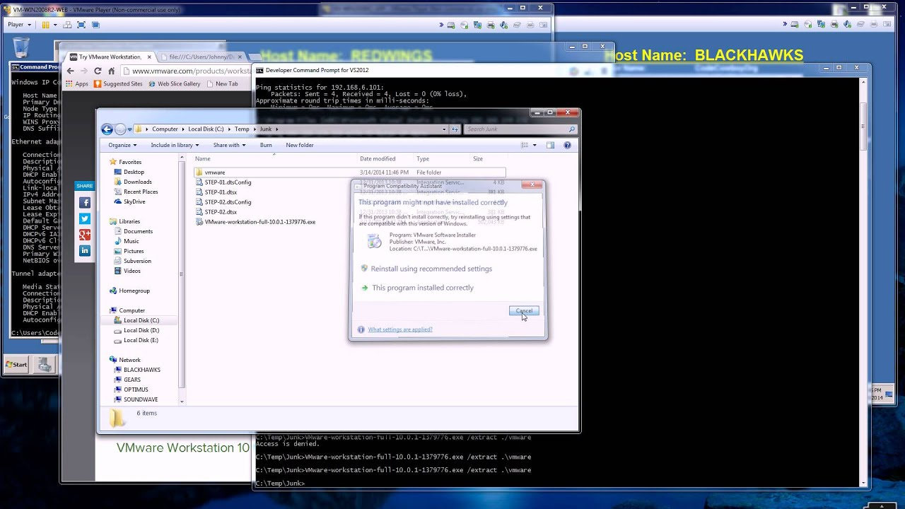 VmWare Player - How to get the Virtual Network Editor