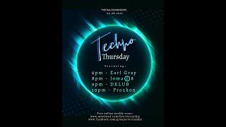 Virtual DJs TECHNO THURSDAY | DKLUB Live | 0508 | Extended Set
