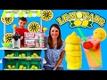 LEMONADE STAND & Ice Cream Cart With Melissa & Doug Food DIY Strawberry Lemonade Kids DisneyCarToys
