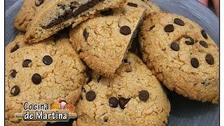 Cookies Rellenas De Nutella   Recetas De Cocina   Cocina De Martina