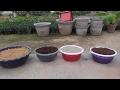 How to make potting soil for plants (Hindi)