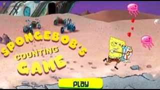 Учимся считать. Числа по порядку от Губки Боба. Игры онлайн. Развивающие мультики видео для детей.