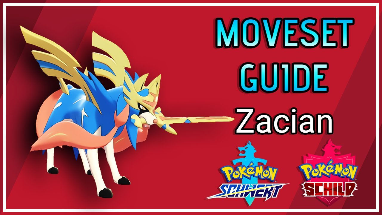 ZACIAN Competitive Moveset Guide + Counter (VGC 2021) 🔴 Pokemon Schwert  und Schild - YouTube