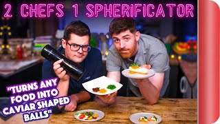 2 Chefs Test a Spherificator!