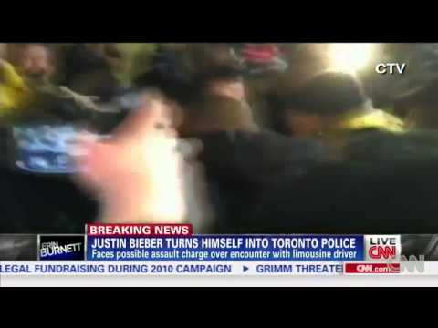 Justin Beiber charged with Assaulting Limo Driver