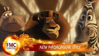 NEW MADAGASCAR STYLE // ТУСИМ ПО ПОЛНОЙ! //  КЛИП НА ПЕСНЮ GANGNAM STYLE PSY