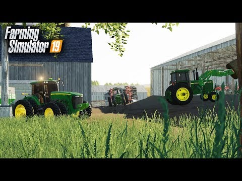 FS19- BUSY DAY ON THE FARM! FEEDING CATTLE SILAGE & STRAW thumbnail