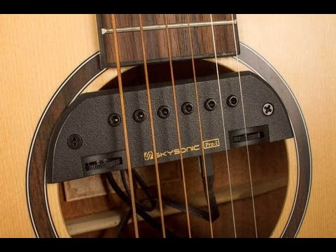review skysonic s pro 1 acoustic guitar pickup system offers flexibility tonal variation. Black Bedroom Furniture Sets. Home Design Ideas