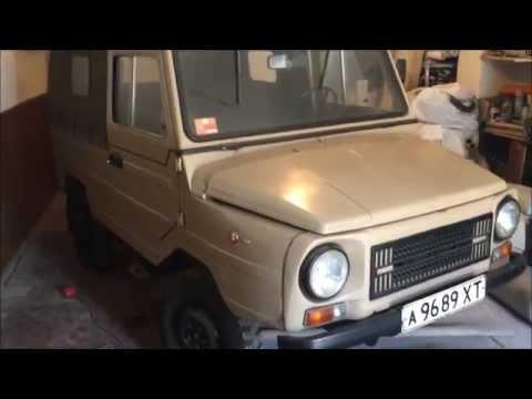 ЛуАЗ-969М 1990-го года с пробегом 12695 км. Часть 1+бонус Tatra 613