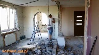 Od A-Z Kapitalny Remont Mieszkania 100m2 Totalna Przebudowa