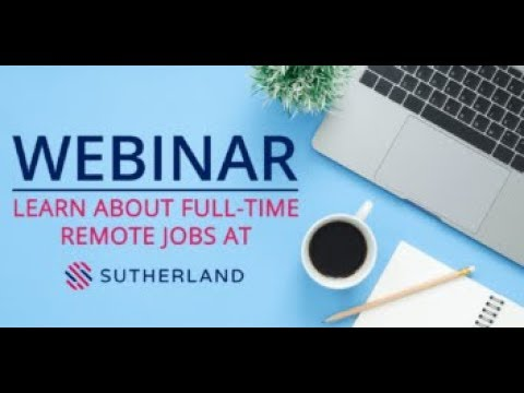 Learn About Remote Jobs At Sutherland, Hiring Now