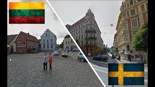 Литва и Швеция. Сравнение. Клайпеда - Гётеборг.