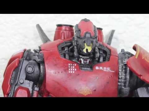"Pacific Rim NECA Jaeger Crimson Typhoon 7"" Movie Action Figure Review"