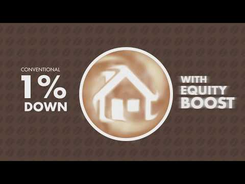 1% Down with Equity Boost Program- American Dream Finance and Mortgage