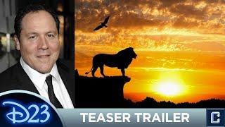 Lion King Teaser Trailer Review D23 Expo 2017