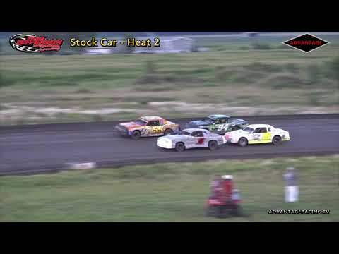 Stock Car/Modified Heats - Park Jefferson Speedway - 7/14/18
