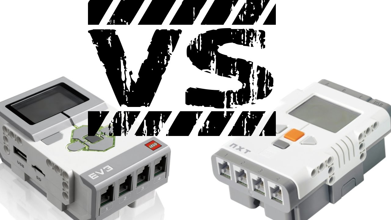 Lego Mindstorms NXT vs  EV3 [Deutsch|HD]