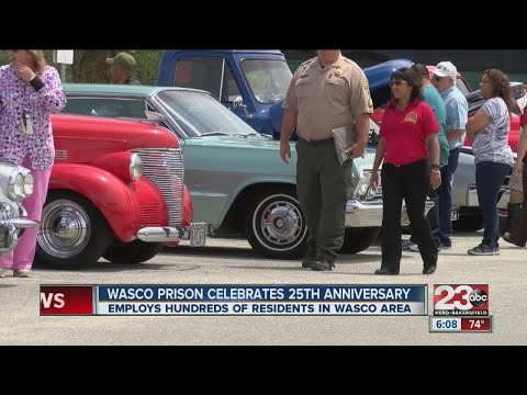 Wasco Prison celebrates 25th anniversary