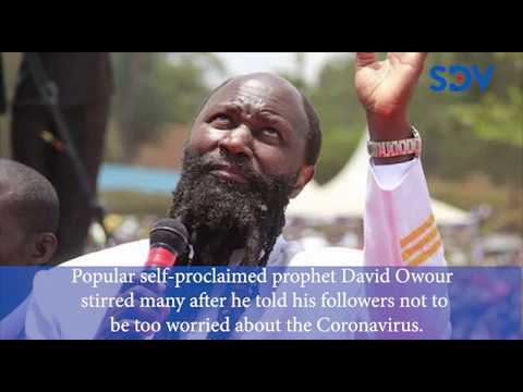 Is your long beard safe or your followers should socially distant themselves: Miguna to Prophet Owuo