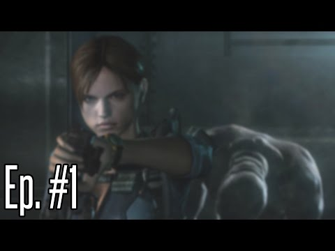 JILL, DON'T STICK YOUR HAND IN THERE!   Resident Evil: Revelations Ep. 1