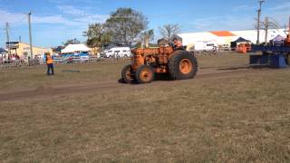 Super 70 Chamberlain on the sled at QLD Heritage Rally, Ayr North QLD. July 2014