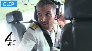 Rowdy Passengers with no Cabin Crew | Worst Place To Be A Pilot | Channel 4